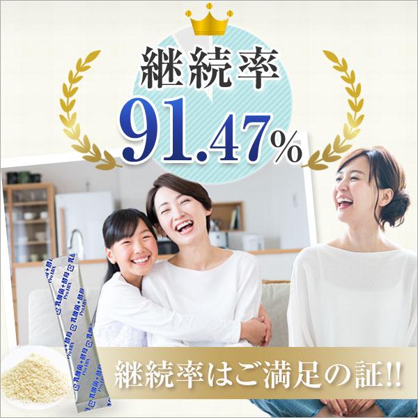 継続率91.47% 継続率はご満足の証!!