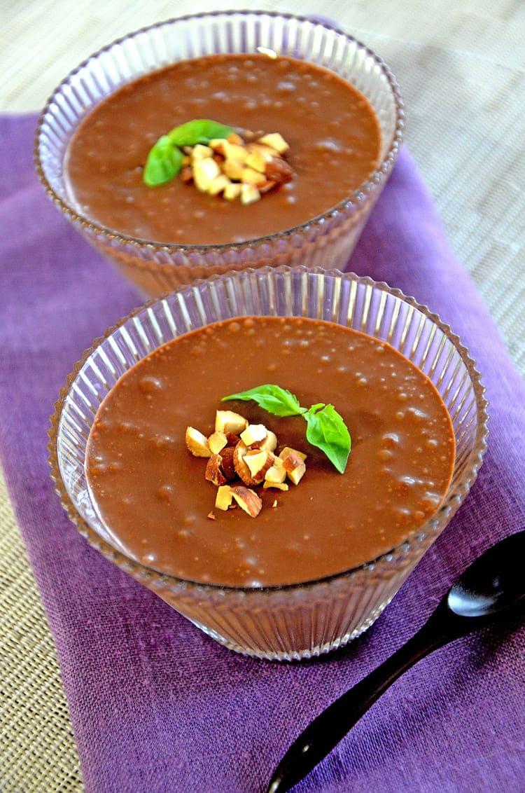 ケフィアチョコレートムース