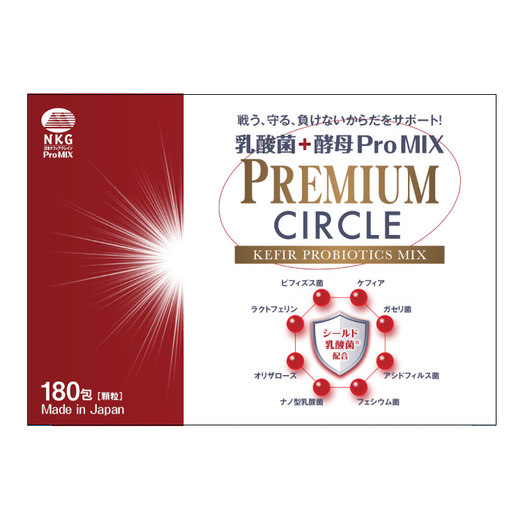 乳酸菌+酵母 ProMIX/赤箱 PREMIUM CIRCLE 180包